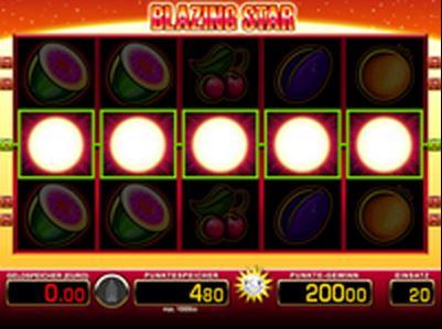 Blazing Star online spielen
