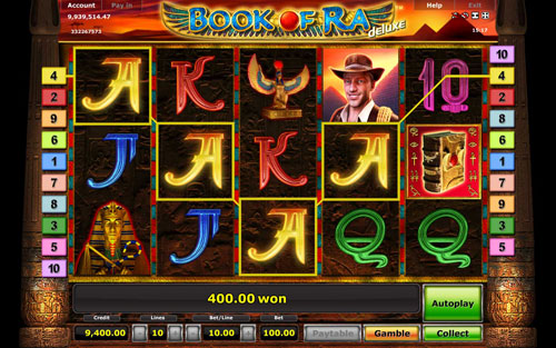 Book of Ra Automaten Tricks 2013