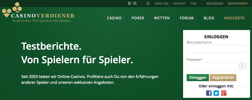 Casinoverdiener