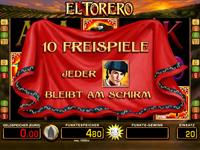 Spielautomaten El Torero Tricks