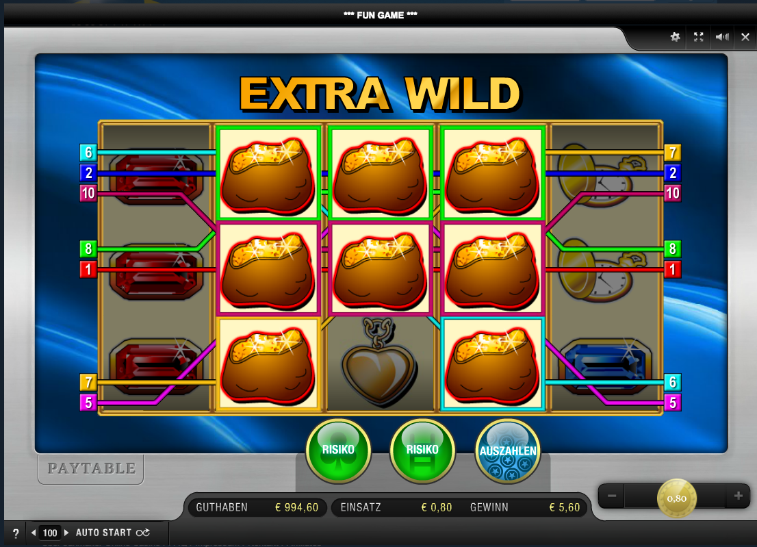 which online casino pays the best extra wild spielen