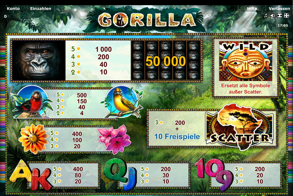 star games gorilla