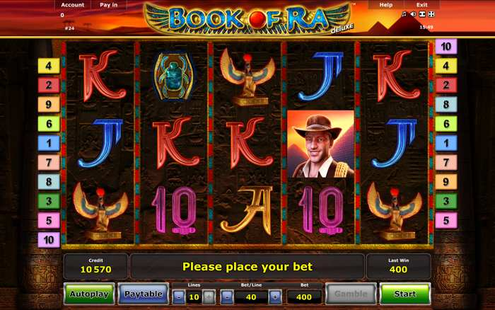 book of ra app tricks