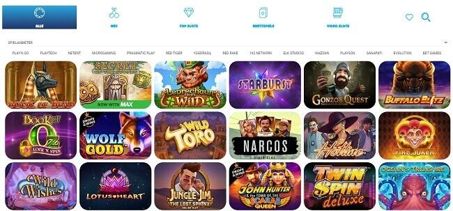 Das Programm des Ohmbet Casinos