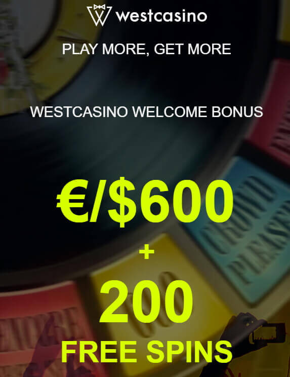 West Casino Bonus