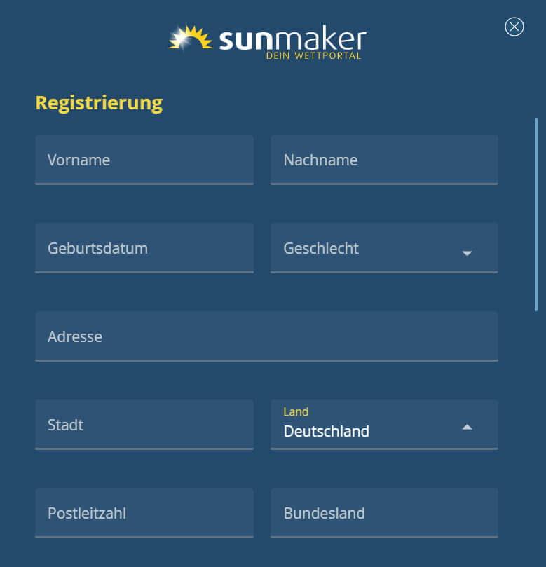 Sunmaker kostenlos und ohne Anmeldung nutzen