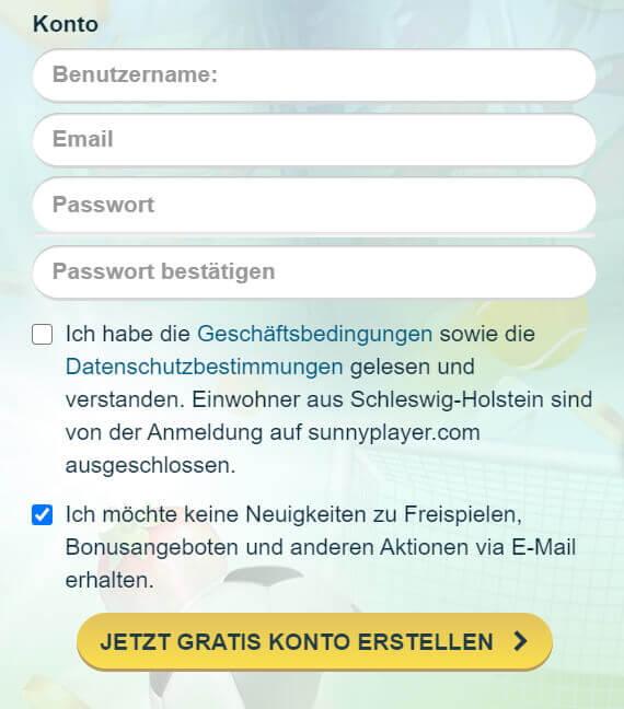 Sunnyplayer Merkur Risiko testen