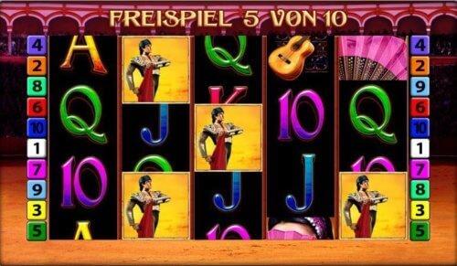 El Torero online spielen kostenlos