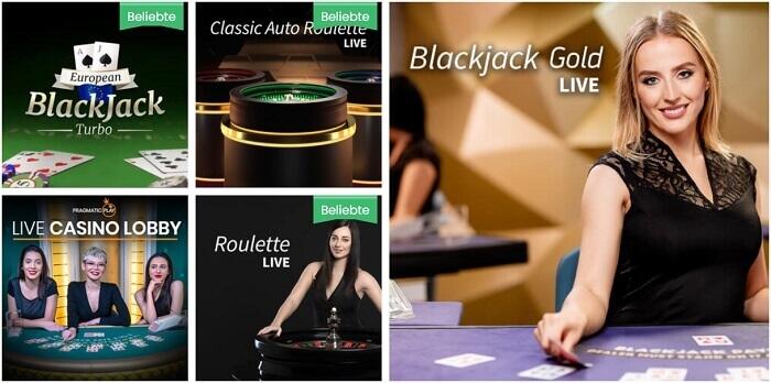 Playjango Live Casino