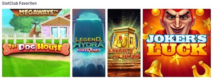 SlotClub Spielautomaten