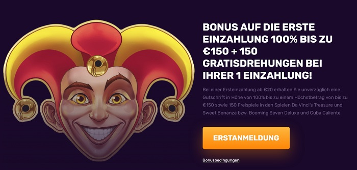 DuxCasino Bonus